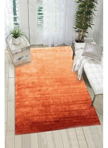 MarkaEv Brand  Dekoratif Halı 009  Oranj